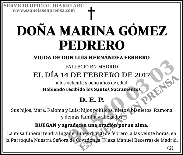Marina Gómez Pedrero